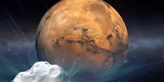 Cometa-Marte